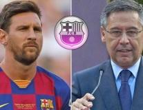 Chủ tịch Barca âm thầm 'đâm lén' Messi