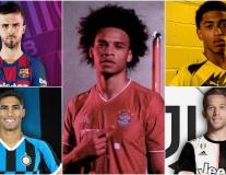 15 thương vụ đã 'đóng đinh' tại 5 giải đấu hàng đầu châu Âu