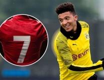Man Utd chốt số áo và vị trí thi đấu cho Jadon Sancho