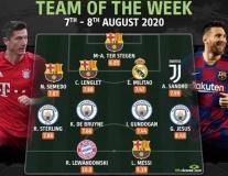 Đội hình tiêu biểu Champions League: MC, Barca chiếm sóng, 'Siêu Saiyan' trên hàng công