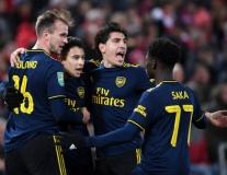 Nhìn lại đội hình Arsenal ghi 5 bàn vào lưới Liverpool năm 2019