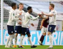 Tân binh ghi bàn, Man City thắng dễ Burnley, đoạt vé đi tiếp ở Cúp Liên đoàn
