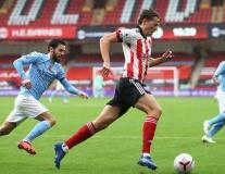 Cú ra chân 'hiểm hóc' định đoạt trận đấu Man City - Sheffield United