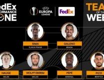 Đội hình tiêu biểu vòng 5 Europa League: Dấu ấn Arsenal
