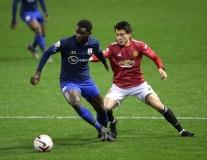 Bắn tốc độ và di chuyển khôn ngoan, 'ngọc thô' đã 'mở tài khoản' tại Man Utd