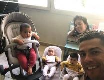 Gạt nỗi nhớ gia đình, Ronaldo tập luyện cực 'sung'