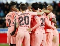 Trình làng tam tấu DSC, Barca nhẹ nhàng áp sát ngôi vương ngày Messi dư bị