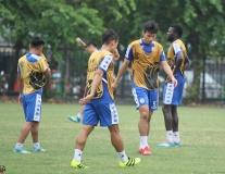 Hà Nội FC miệt mài tập luyện, quyết tâm đánh bại Ceres Nagros