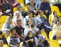 Fan cần Thơ đội mưa xem Công Phượng - Xuân Trường