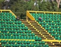 Ảnh hưởng World Cup, khán đài V-League tiêu điều hoang vắng