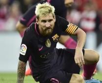 Messi đau khổ với chấn thương kinh niên
