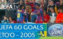 Messi kiến tạo, Eto'o cứa lòng đẳng cấp vs Panathinaikos