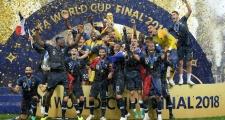 Sao Man City ghen tỵ khi nhìn Pháp vô địch World Cup 2018