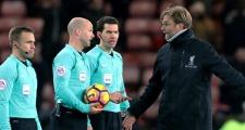 Không cam tâm thua Chelsea, Klopp đổ lỗi cho trọng tài