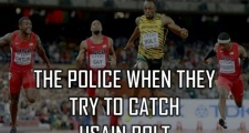 Ảnh vui về sức mạnh và sự thống trị của Usain Bolt