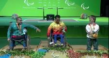 Phần thi giúp lực sỹ Lê Văn Công giành HCV Paralympic 2016 cho Việt Nam