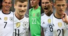 5 nhà vô địch Confeds Cup sẽ giúp ĐT Đức bảo vệ chiếc cúp vàng World Cup
