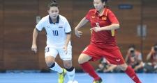 ĐT Futsal nữ Việt Nam thua đau trước người Thái