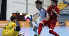 Futsal nữ Việt Nam chịu thua người Thái sau 20 phút