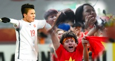 U23 Việt Nam vỡ òa hạnh phúc cùng người hâm mộ