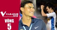 Nhịp đập V-League 2018 | vòng 5 | Đà Nẵng thua sốc, HAGL thua trận thứ 2