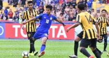 VCK U16 châu Á: Hạ U16 Malaysia, U16 Thái Lan rộng cửa vào tứ kết