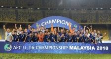 Nhật Bản lần thứ ba vô địch U16 châu Á sau thắng lợi tối thiểu trước Tajikistan