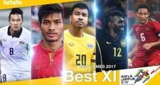 Dừng bước sớm, U22 Việt Nam không góp cái tên nào trong đội hình tiêu biểu SEA Games 29