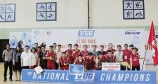 """""""Cú đúp vàng"""" làm nên lịch sử cho Futsal Bách Khoa Hà Nội"""