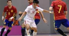 Giao hữu futsal: Tuyển Việt Nam thất thủ 1-4 trước Tây Ban Nha
