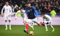 Mbappe rời sân sớm, Pháp thắng Uruguay nhờ bàn thắng tranh cãi trên chấm 11m