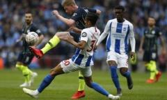 4 điểm nhấn Man City 1-0 Brighton: Giá trị của De Bruyne