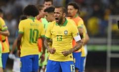 Tỏa sáng tại Copa America, Alves xuất sắc hơn cả huyền thoại Cafu?