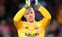 Rivaldo: 'Ter Stegen xứng đáng có hợp đồng mới với Barcelona'