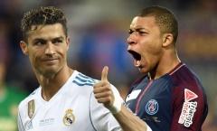 'Mbappe sẽ thay thế vai trò của Ronaldo tại Real Madrid'