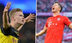 'Còn quá sớm để so sánh Haaland với Lewandowski'
