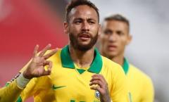 Lập thành tích khủng, Neymar lập tức gửi tin nhắn đến Ronaldo 'béo'
