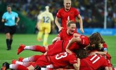 Thắng Thụy Điển, Đức lần đầu giành HCV bóng đá nữ Olympic