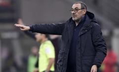 Juventus thoát hiểm vào phút cuối, Sarri vẫn nói 'cứng'