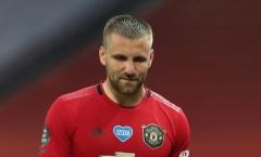 """Luke Shaw: """"Tôi rất thất vọng, Man Utd đã chuẩn bị quá rời rạc"""""""