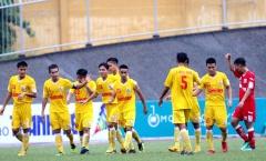 Đồng đội Quang Hải, Văn Hậu quá mạnh ở VCK U21 Quốc gia 2018