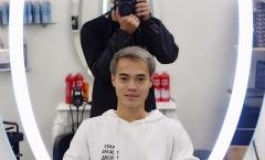 Văn Toàn nhuộm tóc cực ngầu trước khi hội quân cùng ĐT Việt Nam