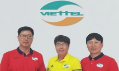 Giống HLV Park Hang-seo, Viettel dùng ekip Hàn Quốc tại V-League