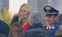 Cựu hoa hậu Ý và siêu mẫu huyền thoại xuất hiện ở Derby Turin
