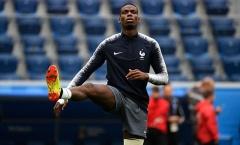 Pogba căng thẳng trước trận đại chiến với tuyển Bỉ