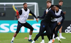 Tuyển Anh tập trò lạ trước trận Bán kết World Cup
