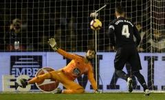 Ramos lại đá Panenka, Real đánh bại Celta Vigo trong cơn mưa bàn thắng