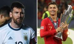 Khi cái 'duyên' đội tuyển 'độ Ronaldo, không độ Messi'