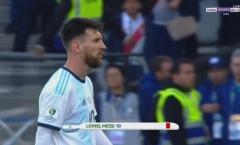 SỐC! Messi chốt hạ Copa America bằng tấm thẻ đỏ