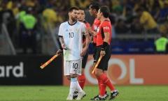 Lionel Messi: Nóng giận mất khôn